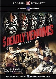 The Five Venoms #1