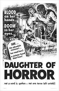 Daughter of Horror #1