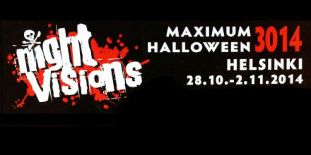 Night Visions - Maximum Halloween 3014